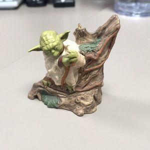 Hallmark keepsake Yoda ornament 2011
